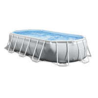 INTEX Kit piscine tubulaire Prism Frame - 5,03 x 2,74 x 1,22 m