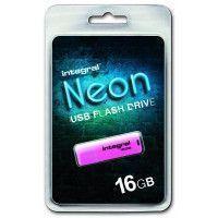 INTEGRAL Clé USB INTEGRAL NEON ROSE 16 GB