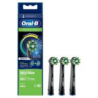 Oral-B CrossAction Brossette Avec CleanMaximiser, Noire, 3
