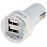 AKASHI Chargeur allume-cigare AKASHI ALT 2 USB CARCHW