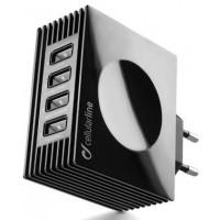 CELLULAR Chargeur USB CELLULAR ACHUSBQUAD 4 AK
