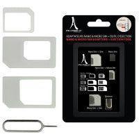 AKASHI Accessoires téléphone portable AKASHI ALTSIMADAPT 3 WH