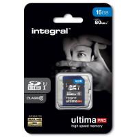 INTEGRAL Carte SDHC INTEGRAL SDHC 16 GO CL 10/80