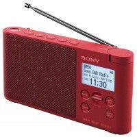 Radio-réveil SONY XDRS 41 DBP ROUGE