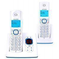 Téléphone fixe ALCATEL F 530 VOICE DUO BLEU