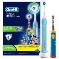 ORAL-B Brosse à dents électrique ORAL-B PACK PRO FAMILLE