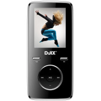 DJIX Baladeur MP3 MP4 DJIX M 350 8 GO FM NOIR