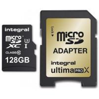 INTEGRAL Carte micro SDHC INTEGRAL MICROSDXC 128 GO CL 10 4 K
