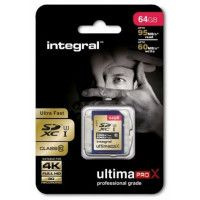 INTEGRAL Carte SDXC INTEGRAL SDXC 64 GB CL 10 95/60