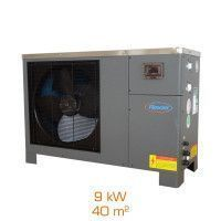Pompe à chaleur réversible REXAIR Style'PAC 9 - 9kW - 40m²