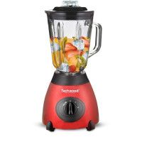 BLENDER 1.5 L INOX / ROUGE TECHWOOD - TBLI-385