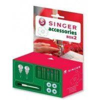 Lot d'accessoires pour machines à coudre SINGER ACC BOX 2