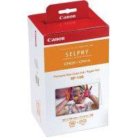 Canon Pack papier + cartouche CANON RP 108 IN