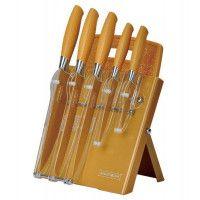 Royalty Line Royalty-Line RL- GLD7ST-W Set de couteaux 7 pièces