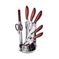 Imperial Collection Imperial Collection IM-V8 Ensemble de couteaux en acier inoxydable 8pcs Brun