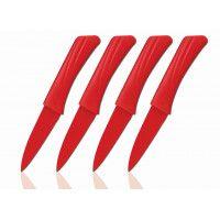 Cenocco CC-9009 Couteaux de fruit 4pcs Rouge