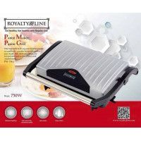 Royalty Line Royalty Line PM-750.1 Panini Grill 750W Argent