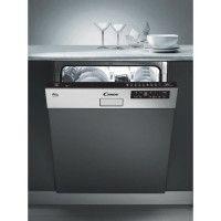 CANDY CDS 2D36X-47-Lave vaisselle encastrable bandeau inox-13 couverts-47 dB-A++-L 60 cm