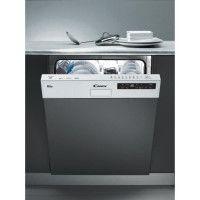 CANDY CDS2D35W - Lave vaisselle encastrable - 13 couverts - 46 dB - A++ - Larg 60 cm - Bandeau blanc