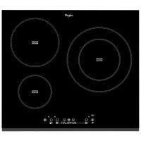 WHIRLPOOL ACM860BF-Table de cuisson induction-3 zones-7000 W-L58 x P51 cm-Revetement verre-Noir