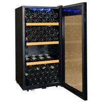 CLIMADIFF CLS130 - Cave a vin de service - 130 bouteilles - Pose libre - Classe C - L 59,5 x H 121,5 cm