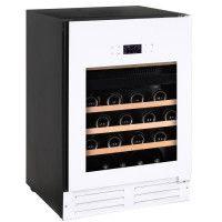 TEMPTECH GRN46DW - Cave a vin de service - 46 bouteilles - Possibilite encastrable - Classe C - L 59,5 x H 86 cm