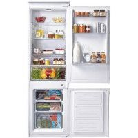 CANDY CKBBS100 - Refrigerateur combine encastrable - 250 L 190+60 L - Froid statique - A+ - L 56 x H 177 cm