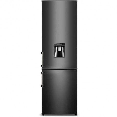 CONTINENTAL EDISON CEFC262DB - Refrigerateur combine - 262L 196L + 66L - Froid statique - A+ - L 55 x H 180 cm - Noir