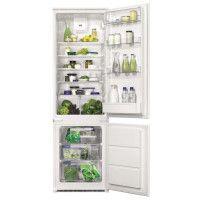 FAURE FBB28468SV - Refrigerateur congelateur bas encastrable - 277L 202+75 - Froid brasse - A+ - L 54cm x H 177,2cm - Blanc