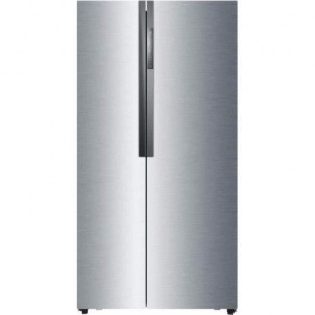 HAIER HRF-521DM6 - Refrigerateur americain - 518L 341+177 - Froid ventile - A+ - L 90,8cm x H 179cm - Inox