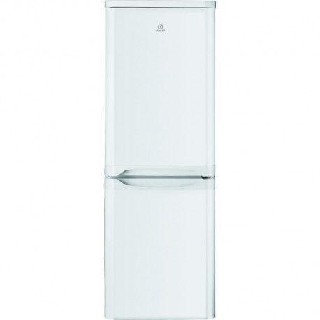 INDESIT NCAA55 - Refrigerateur congelateur bas - 217L 150+67 - Froid statique - A+ - L 55cm x H 157cm - Blanc