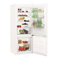 INDESIT LR6 S1 W - Refrigerateur congelateur bas - 271L 196L+75L - Froid statique - A+- L 60 x H 154 cm - Blanc