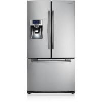 SAMSUNG RFG23RES-Refrigerateur americain-520L 396 L + 124 L-Froid ventile-A+-L 90,8 cm x H 177,4 cm-Inox