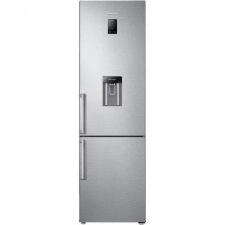 SAMSUNG RB3EJ5900SA - Refrigerateur congelateur bas - 350L 246+104 - Froid ventile - A+ - L 59,5cm x H 201cm - Silver