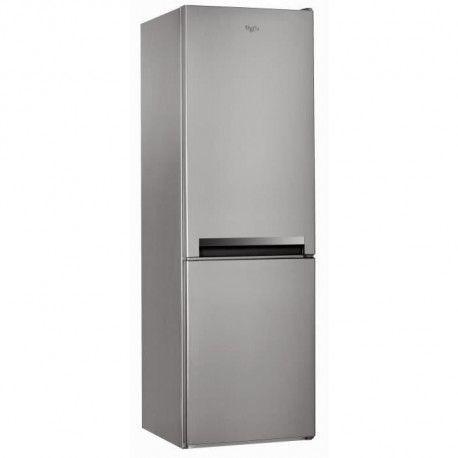 WHIRLPOOL BLF8001OX -Refrigerateur congelateur bas-339L 228+111-Froid statique-A+-L60cm x H189cm-Inox