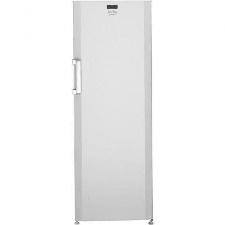 BEKO FS127320 - Congelateur armoire 237L - Froid statique - A+ - L59,5 x H 171cm - Blanc