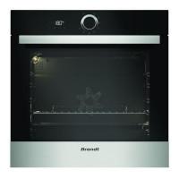 BRANDT BXP5700X - Four electrique encastrable - Chaleur tournante - 68 L - Pyrolyse - A - Inox