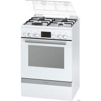 BOSCH HGD74W322F - Cuisiniere table gaz-4 foyers-Four electrique-Catalyse-66L-A-L60 x H 85cm-Blanc