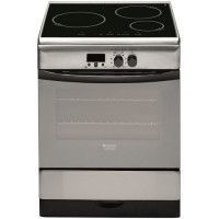 HOTPOINT HF63ILMPAAXFR-Cuisiniere table induction-3 zones-Four electrique-Pyrolyse-57 L-Classe A-L 60 x H 85 cm-Inox
