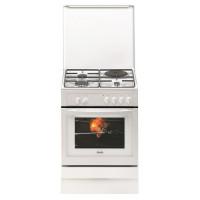 SAUTER SCM1010W - Cuisiniere table mixte - 4 foyers - Four 50,4 L - Catalyse - L 60 x H 85 cm - Blanc