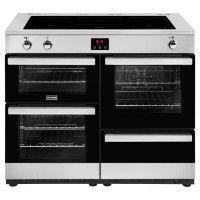 STOVES PCITY110EISS-Cuisiniere table de cuisson induction-5 zones-Four electrique-4 cavites-35L-71L-69L-L110 x H92,2 cm-Inox et