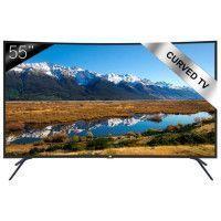 CONTINENTAL EDISON TV LED UHD 4K Ecran incurve 139,7cm 55