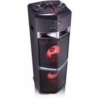 LG OJ98 Chaine high power - Bluetooth multi pairing - Design lumineux - Fonction DJ + karaoke - 1800 W - Noir