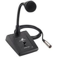 Microphone de table avec col de cygne MONACOR PDM 302