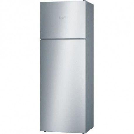BOSCH KDV47VL30 - Refrigerateur congelateur haut - 401L 315+86 - Froid brasse - A++ - L 70cm x H 191cm - Inox