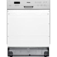 HAIER DW12-T1347BIS - Lave-Vaisselle encastrable - 12 couverts - 47dB - A++ - Silver - Larg 59,6 cm