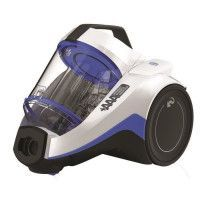 DIRT DEVIL Aspirateur sans sac 3AAA+ cyclonique DD2226-0 - Rebel 26 - 75 dB - 550 W - Blanc polaire