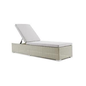 Chaise longue, banc et bain de soleil