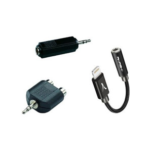 Connectique et adaptateurs audio